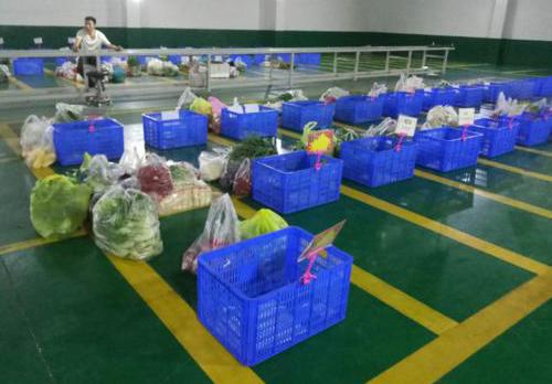 生鲜食品配送